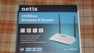 Netis WF2419 Wireless Router Unboxing & Overview ( Just For Rs.1150 )