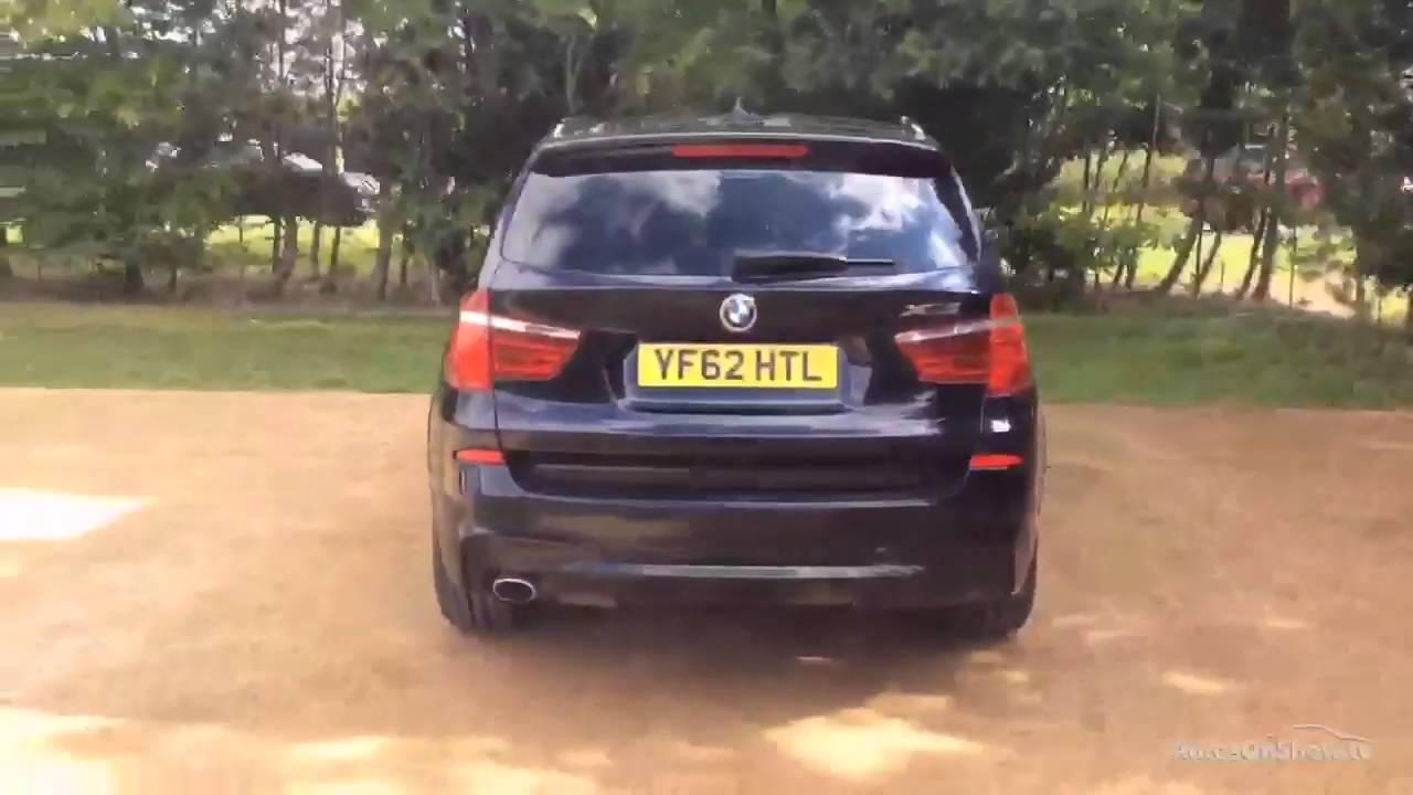 BMW X3 XDRIVE20D M SPORT BLACK 2012