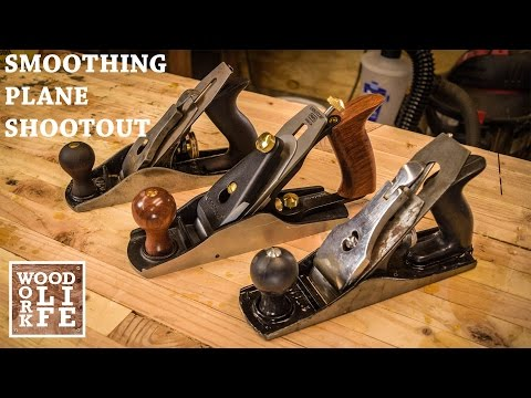 Smoothing Plane Shoot Out - Veritas, Classic Stanley, & Harbor Freight | WWL Hand Tool Shootout