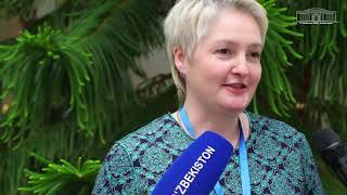 Б.Ельцин номидаги Президент кутубхонаси бўлим бошлиғи ўринбосари Мария Стегаева билан суҳбат.