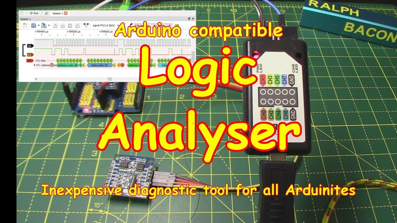 #99 Logic Analyzer for I2C, SPI and many more protocols