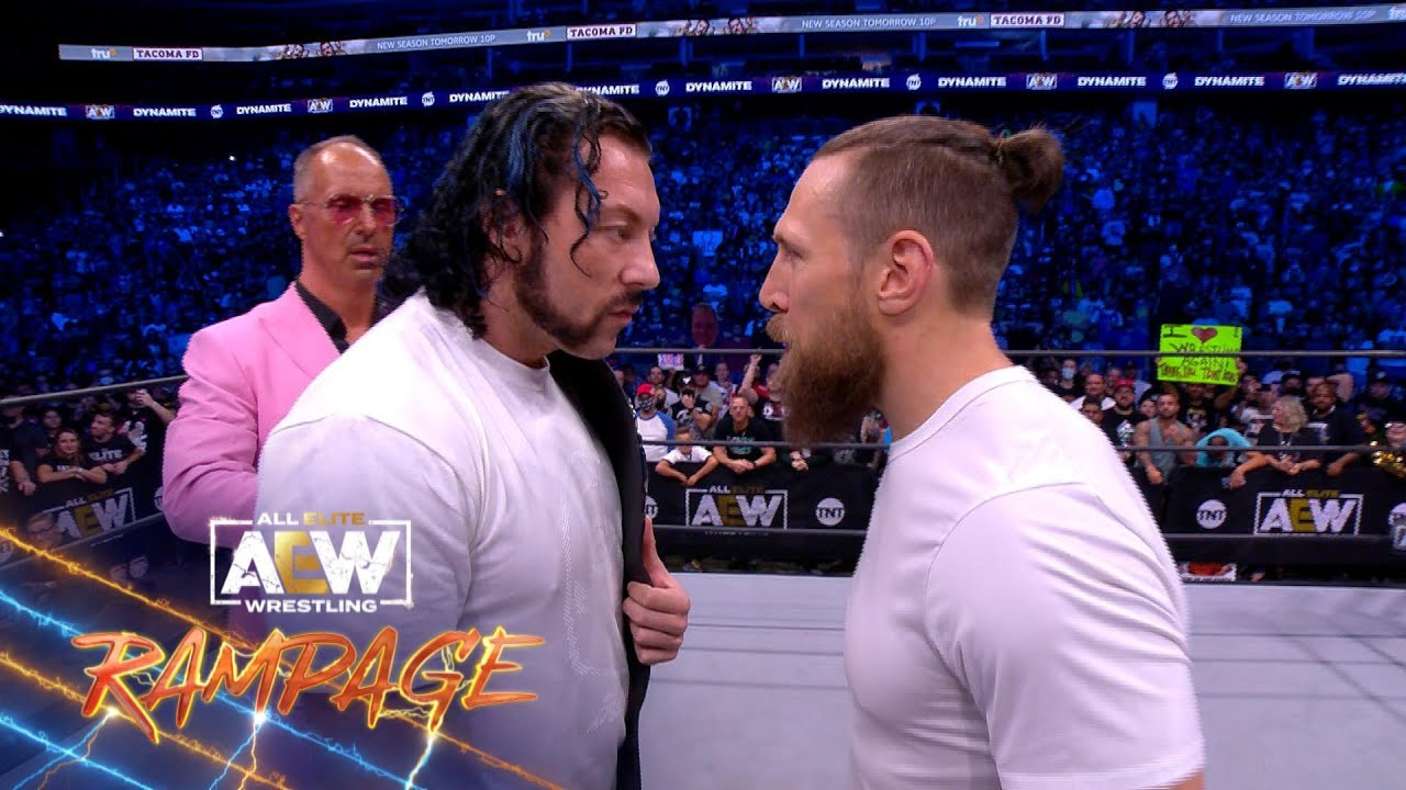 What Happened When Bryan Danielson & The AEW World Champ Came Face to Face?   AEW Rampage, 9/17/21