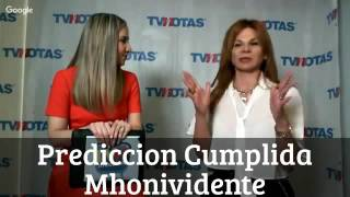 Repeat youtube video Prediccion Cumplida Mhonividente ANUNCIAN MUERTE DE FIDEL CASTRO