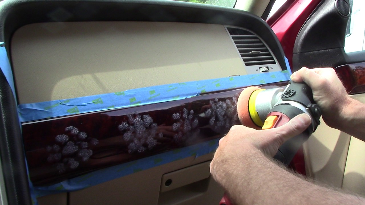 polishing car interior trim youtube. Black Bedroom Furniture Sets. Home Design Ideas