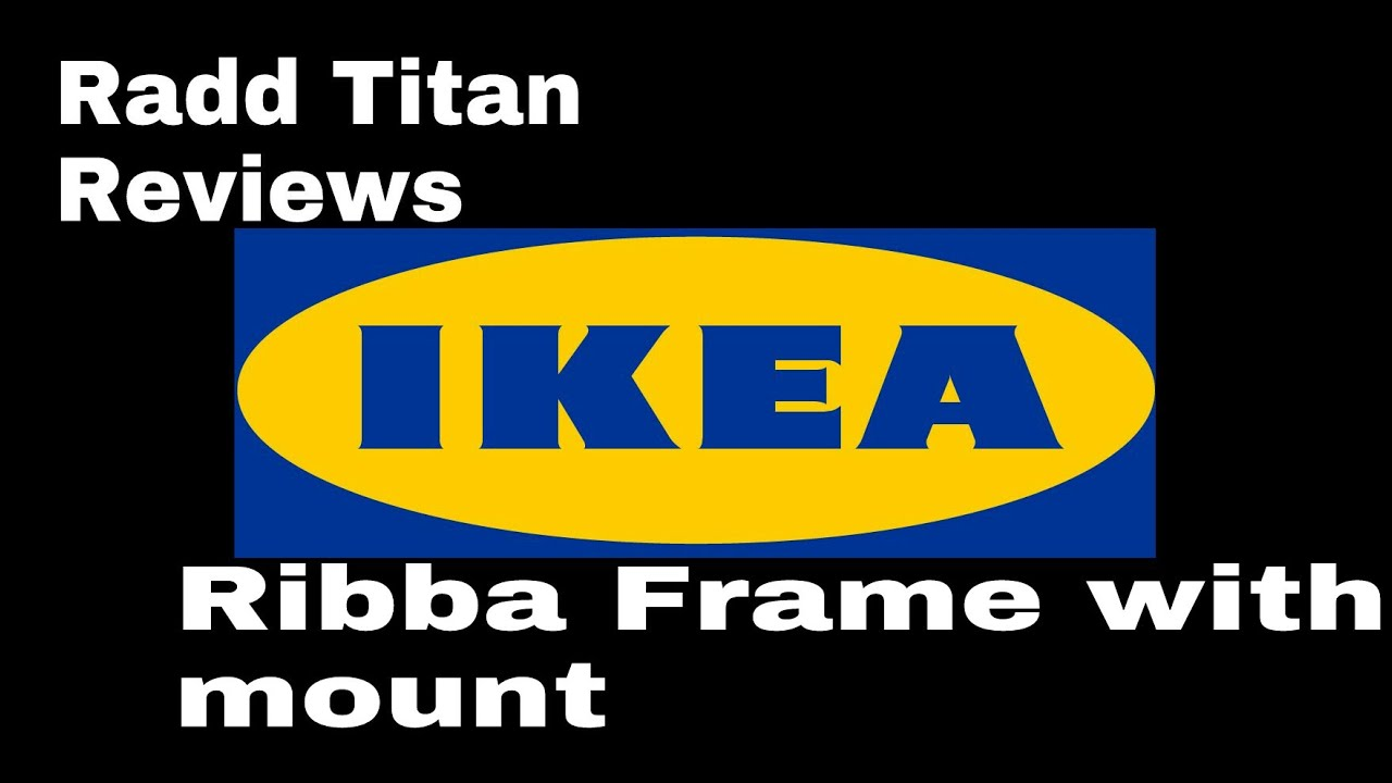 ikea ribba frame best for large movie posters youtube