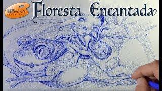 Floresta Encantada - Gnomo- Curso de Desenho Online IPStudio