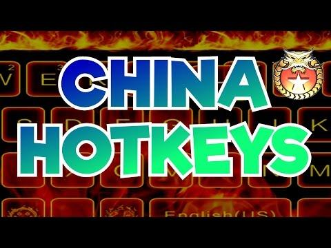ZH - All China Hotkeys