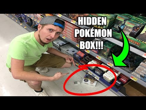 EXPLORING HIDDEN POKEMON CARDS AT STORES! Opening Pokemon Haul Ep 18