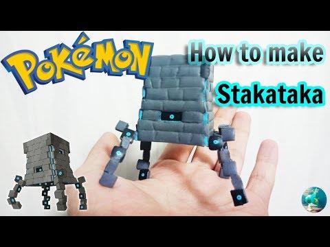 Pokemon Clay Art Tutorial - Ultra Beast Stakataka thumbnail