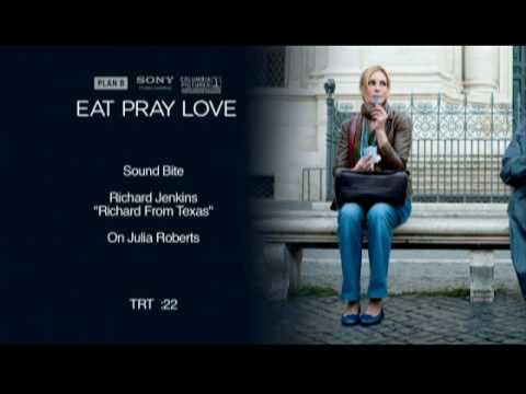 Interview with Richard Jenkins for Eat Pray Love
