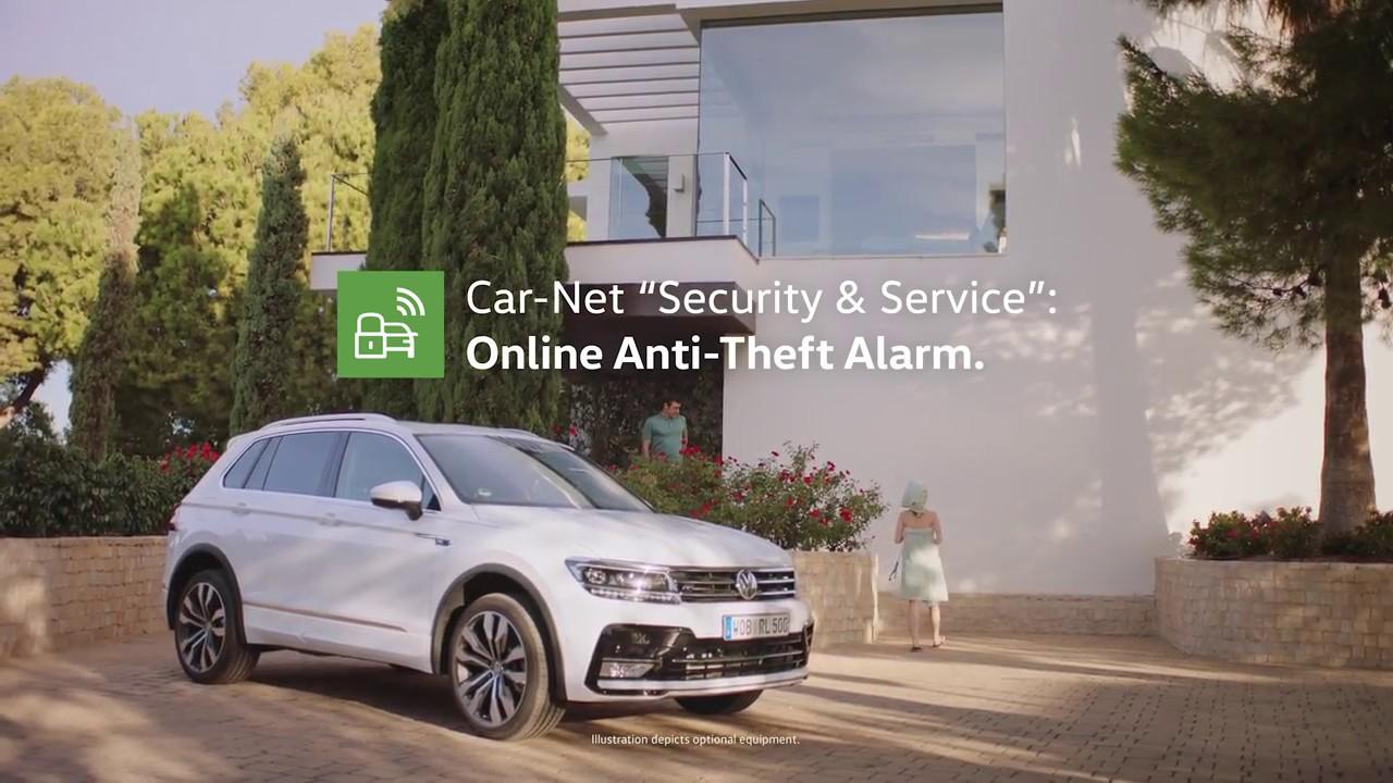 Volkswagen Car Net Security Service Youtube