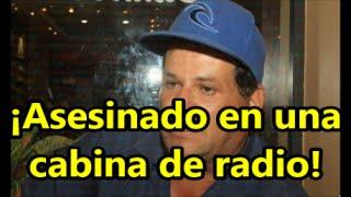Asesinan a comunero mientras transmitía un programa de radio en Mazatlán.