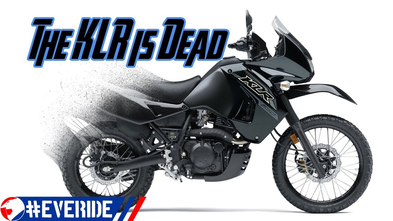 The KLR is discontinued will it be replaced a Team Green Adventure