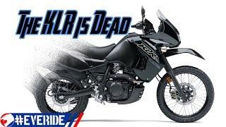 Kawasaki Kills the KLR 650, Will a *KLX 550* Dual Sport Replace It?! #everide