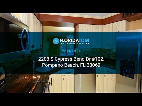 For Sale Modern, Beautifully Updated Cypress Bend Condo In Pompano Beach - Www.FLTom.com
