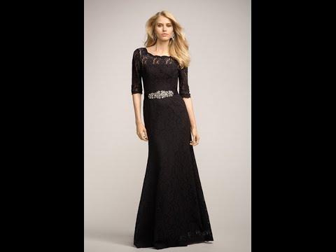 3d356342ac940 اشيك فساتين سهرة طويل اسود جديدة 2017 - Most Stylish Long Black Evening  Dresses new