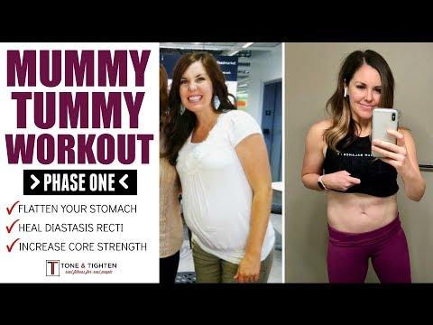 Mummy Tummy Workouts Postpartum Ab Exercises Diastasis Recti Safe Workout