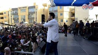 أخبار اليوم | حمادة هلال يحيي حفل للأيتام في إحدى الجامعات الخاصة