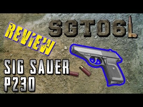 Sig Sauer P230 Review - SGT061