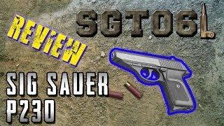 Sig Sauer P230 Review - SGT061