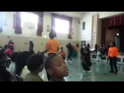 Ashe Elementary School Dance Team
