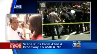 Witness: Times Square Packed At Time Of Crash