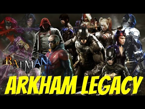 INSIDE SCOOP: New Batman Game Trailer Scheduled To Drop At The VGAs (Batman: Arkham Legacy)