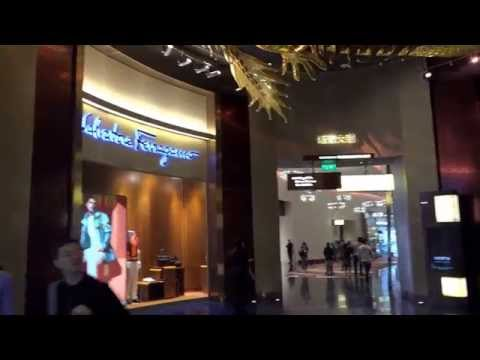 Macau Casino Roof / footage Sony AX 100 4K