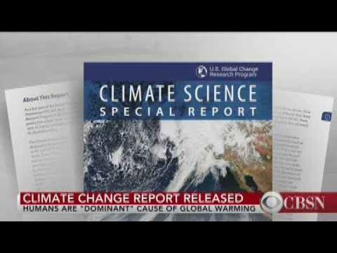 U.S. report says humans cause climate change
