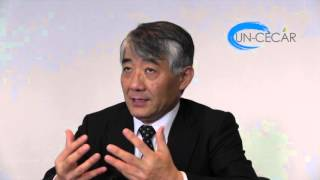 Climate Change Course with Toshio Koike at UN-CECAR