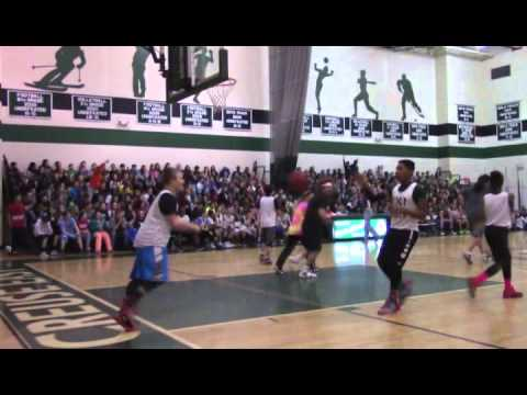 Mse Students Vs Staff Basketball Game Marriage Proposal Youtube