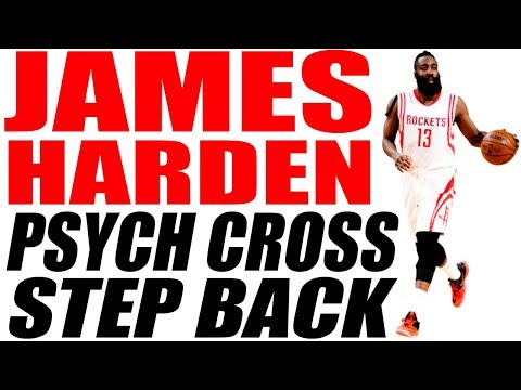 PSYCH CROSS STEP BACK! James Harden Crossover -...