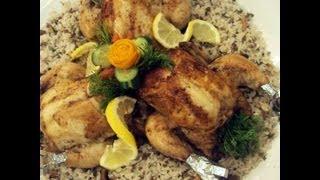 روستو الدجاج المحشي - مطبخ منال العالم