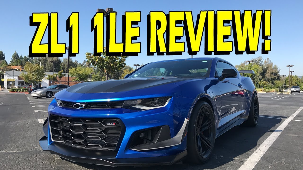 2018 Camaro ZL1 1LE Review YouTube