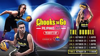 RE-LIVE - 2020 Chooks to Go Pilipinas 3x3 President's Cup - Leg 3