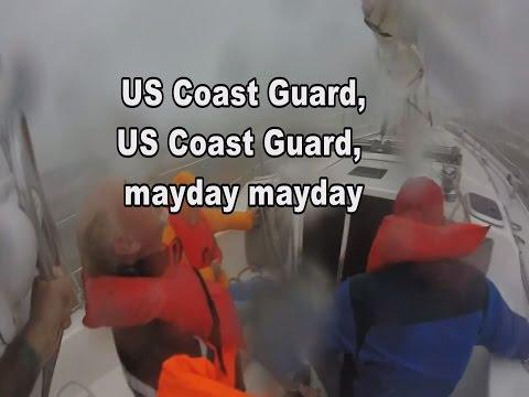 Coast Guard Radio Distress Calls