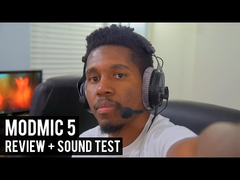 BEST GAMING HEADSET MIC? ModMic 5 Review + Sound Test vs HyperX Cloud Revolver