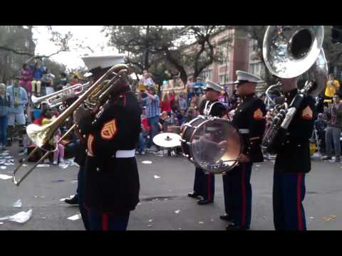 St. James infirmary Marine Corps Band New Orleans