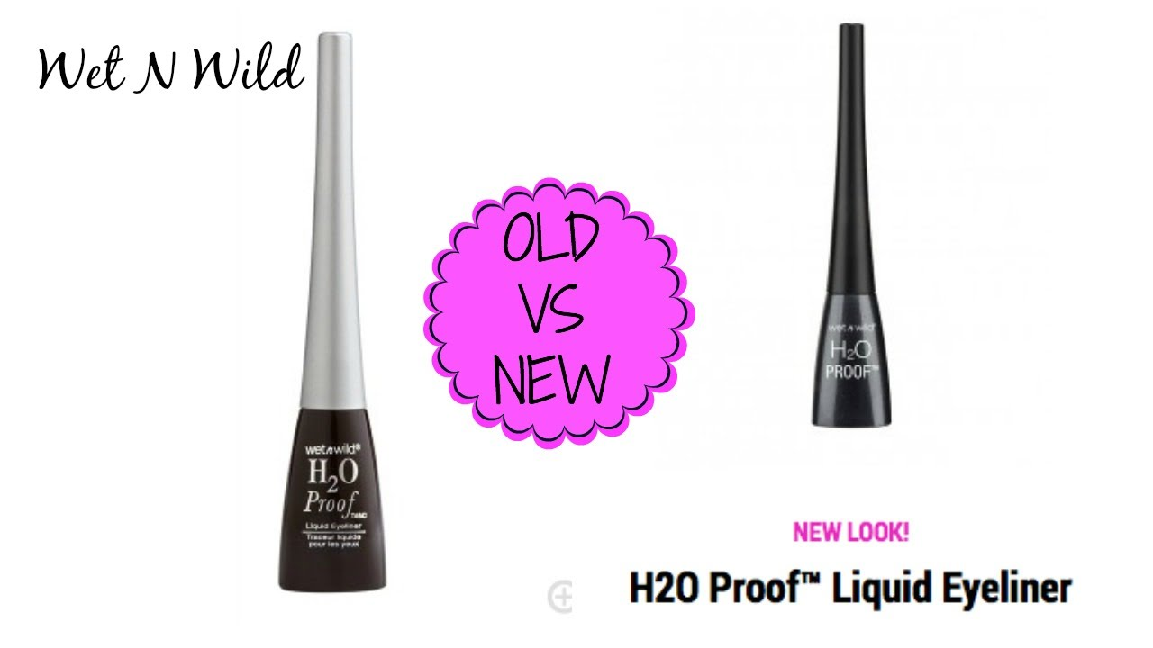 Wet N Wild H2O Proof Old VS New Formula - YouTube