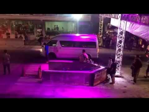 รถตู้ซิ่ง ประชาอุทิศ สนามแข่งคลอง 5