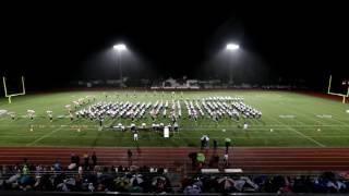 Fraser High School Marching Band MSBOA 2016