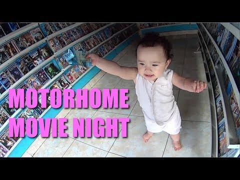 Motorhome Movie Night