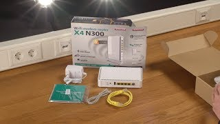 Unboxing en installatie van Sitecom WLM-4600 Wi-Fi Router X4 N300 - NEDERLANDS
