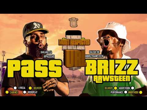 BRIZZ RAWSTEEN VS PASS SMACK / URL