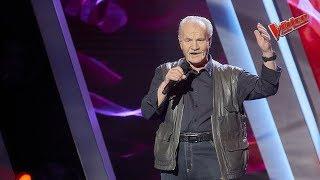Petr Vokál - Tom Jones : Delilah | The Voice Česko Slovensko 2019