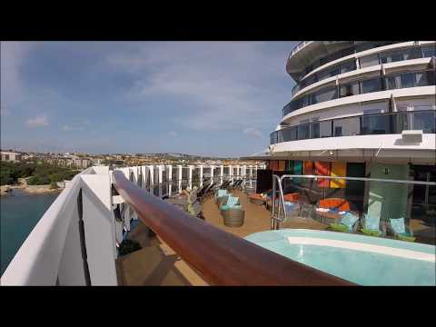 Carnival Vista Time Lapse - Sailaway From Curacao