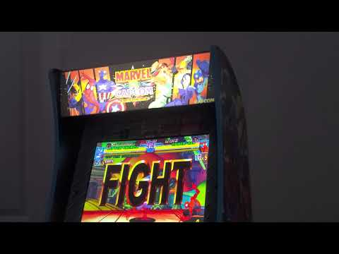 Arcade1up - Marvel Vs Capcom (Online Fights  Ep.1) from 5duecegun