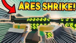 TRYING THE *NEW* ARES SHRIKE ON BAD BUSINESS! (ROBLOX)