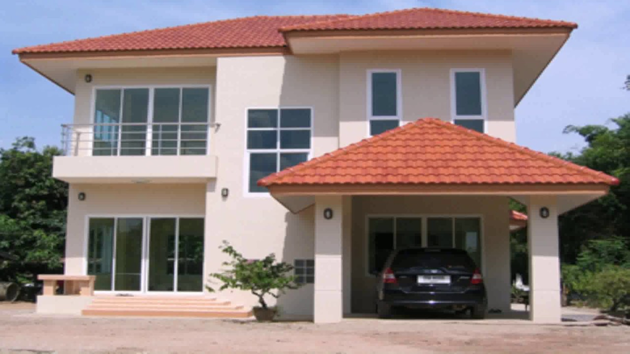 House design pictures thailand youtube for Home designs thailand