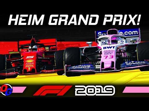 F1 2019 KARRIERE #12 – Hockenheim, Deutschland GP | Let's Play Formel 1 Deutsch Gameplay German